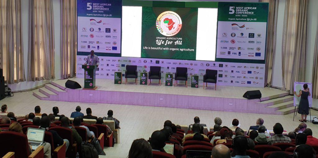 WAOC speaker in auditorium